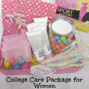College Care Package for Women (girls) - Organized 31 #FitToPlay #Ad