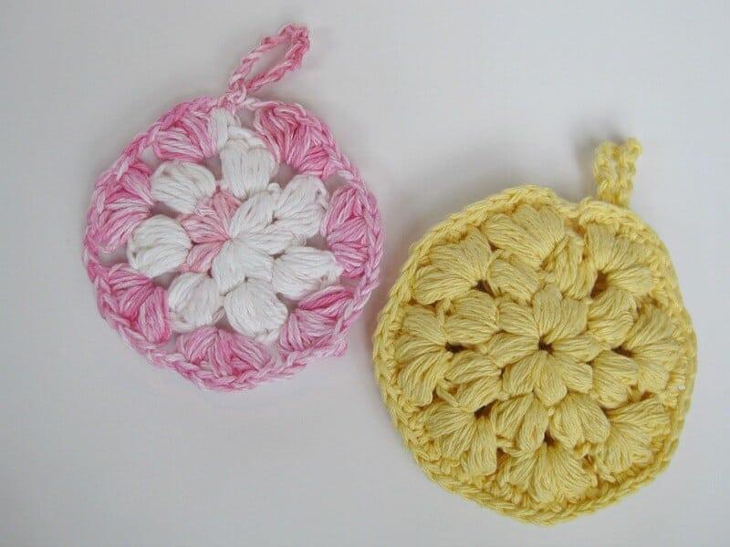 Crocheted Shower Pouf Pattern - Organized 31 #FreshAndGlow #Ad #