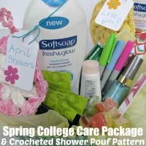 Spring College Care Package - Organized 31 #FreshAndGlow #Ad