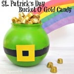 St. Patrick's Day Bucket O' Gold Candy