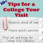 Tips for a College Tour Visit