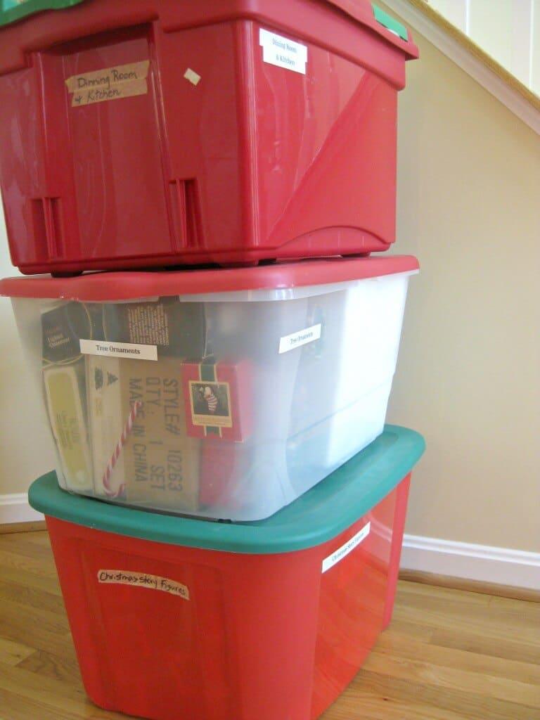 bins stacked HR