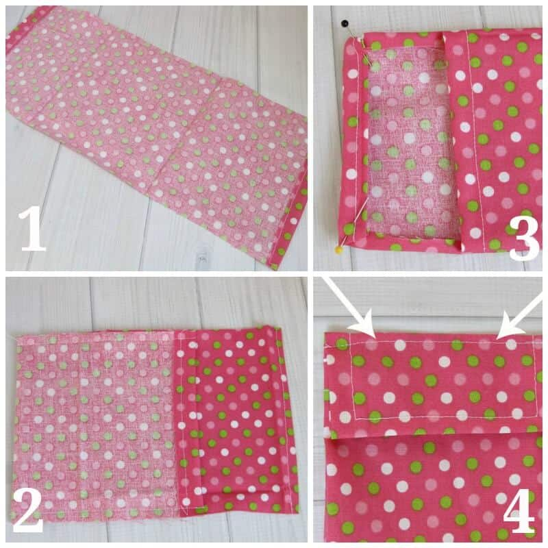 DIY Feminine Case - A Beginner's Sewing Project - Organized 31