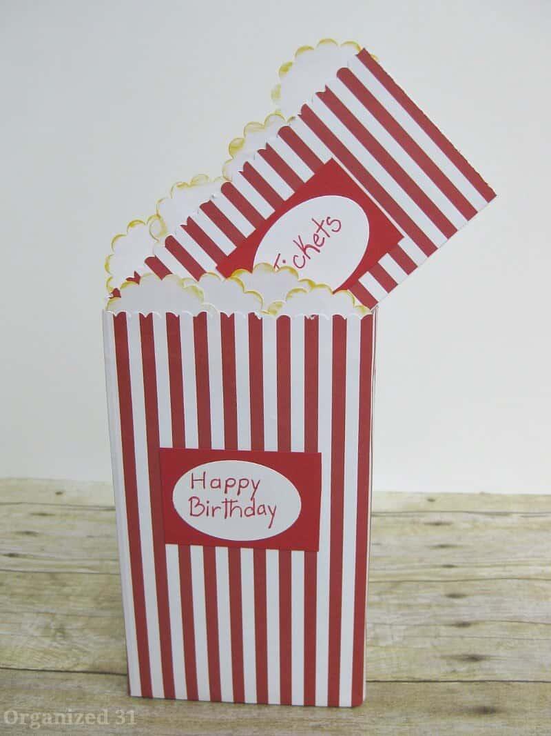 Birthday Gift Movie Tickets