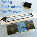 Candy Graduation Cap Favors