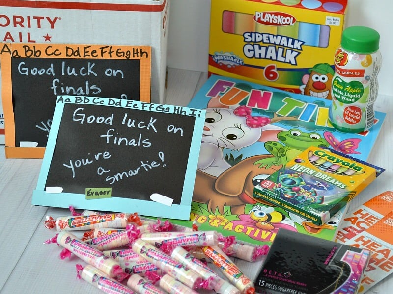 DIY College Finals Care Package - Organized 31