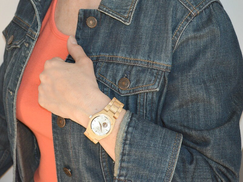 Graduation Gift for the Fashionable Graduate - JORD Wood Watch Review - Organized 31 #jordwatch #sponsored