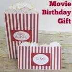 Movie Birthday Gift