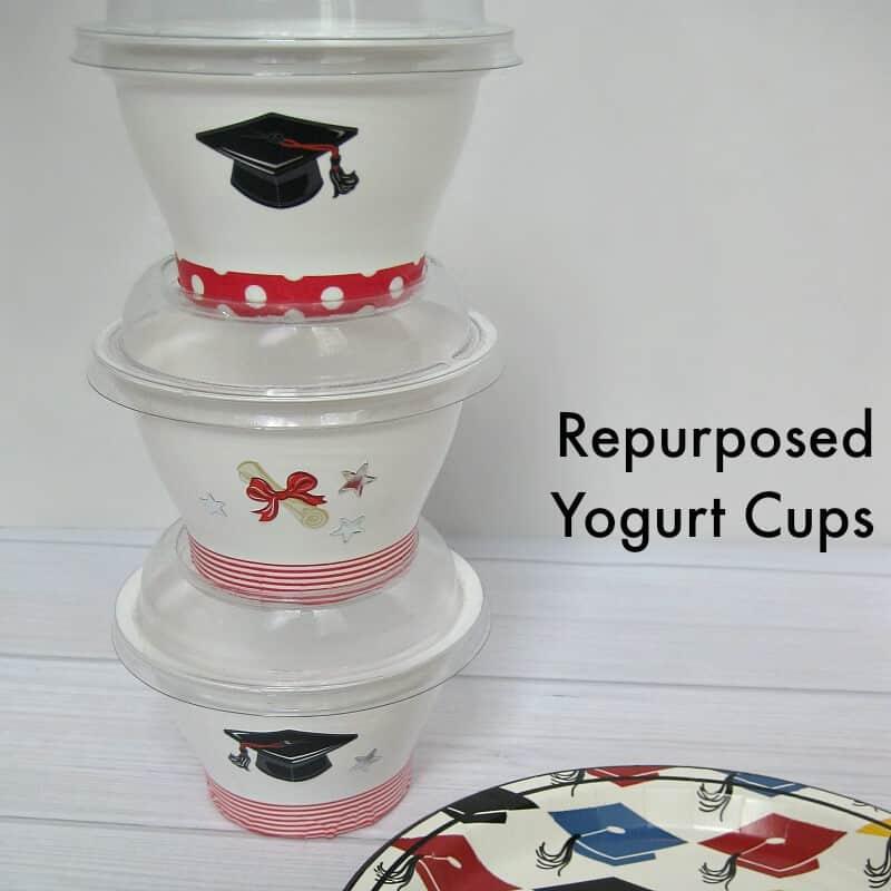 Repurposed Yogurt Cup - Organized 31