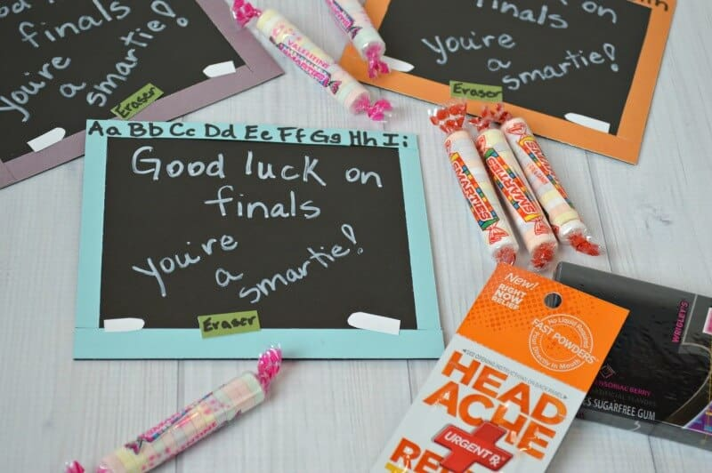Make this DIY Finals Test Treat for test taking students in school - Organized 31