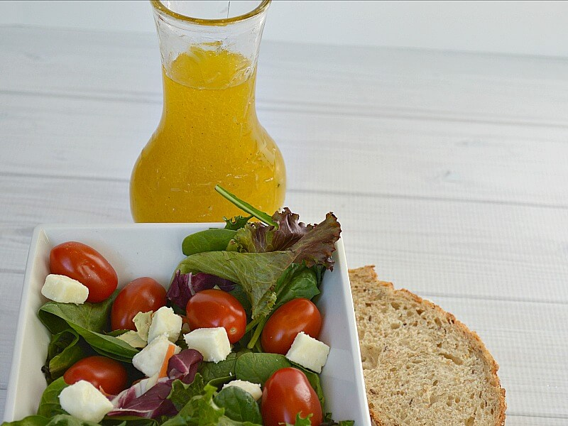 Lemon-Olive Oil Dressing Recipe - It's All Greek to Me - Organized 31 #OneYrGreek #sponsored
