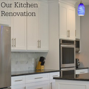 New Kitchen Renovation Reveal – White Cabinets