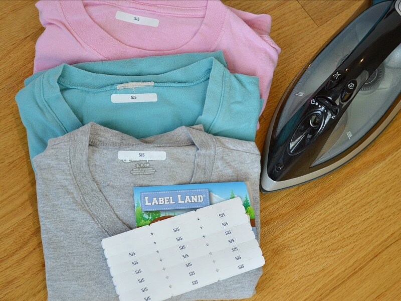 Why You Need Iron-On Clothing Labels - Label Land Review #sponsored