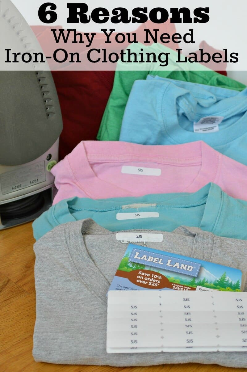 Why You Need Iron-On Clothing Labels v