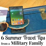 6 Summer Travel Tips from a Military Family