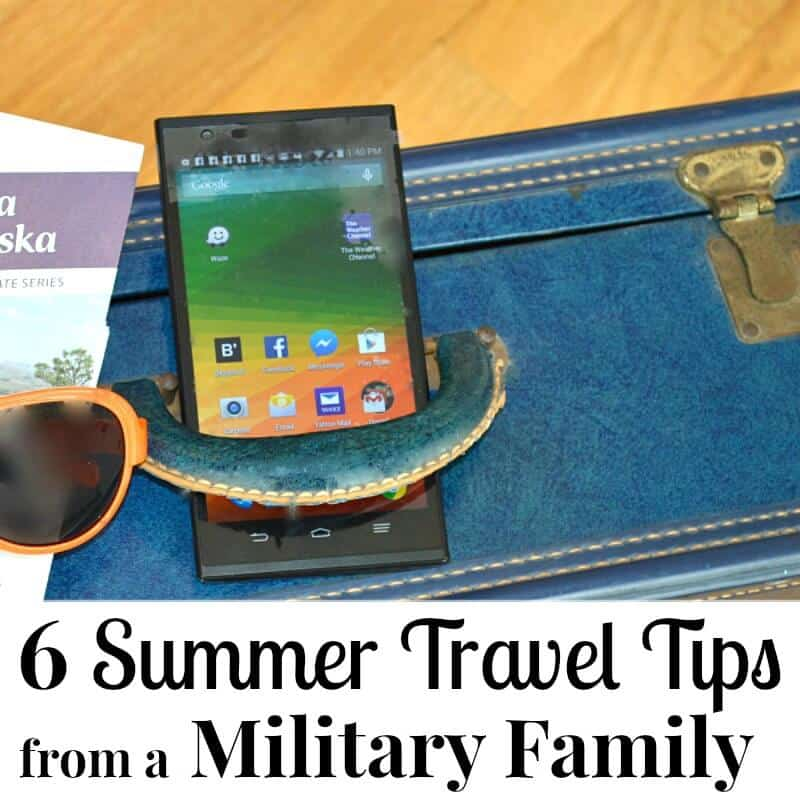 Summer Travel Tips from a Military Family -Organize your summer travel plans to save money and have fun. #Save4Summer [Ad]