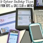 9 Cyber Safety Tips from Boys & Girls Clubs of America #CyberSafe #IC [ad}