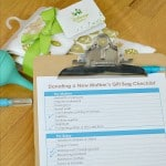 Donate a New Baby Gift Bag Checklist