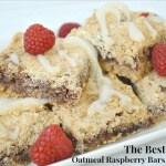 The Best Oatmeal Raspberry Bars