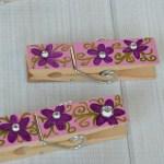 Easy DIY Decorated Clothespins