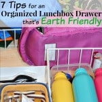 Organized Lunchbox Drawer that's Earth Friendly
