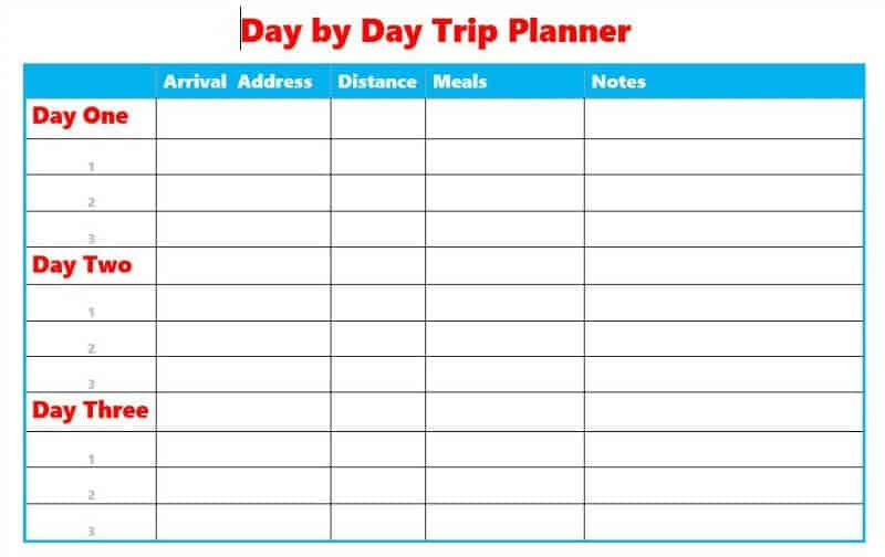 6 reasons you need a trip planner organized 31