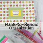 Free Back-to-School Organization