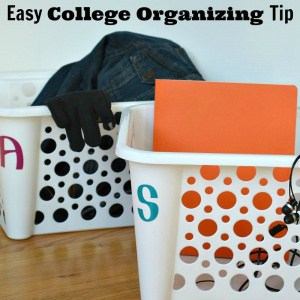 An easy college organizing tip that only costs $2