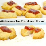 Old Fashioned Jam Thumbprint Cookies