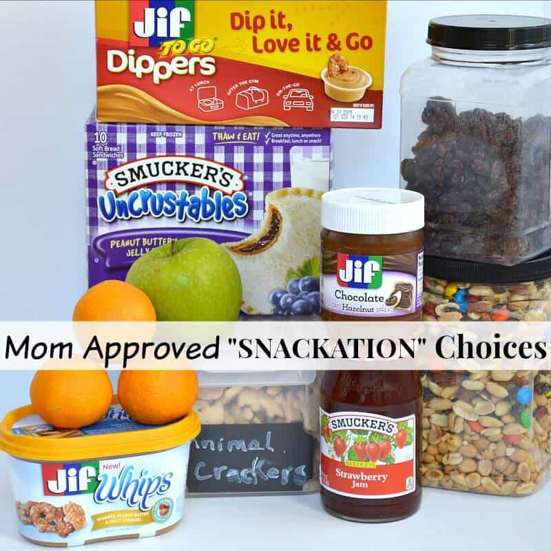 "Mom Approved ""SNACKATION"" choices that will make mom and family happy. #Snackation [ad]"