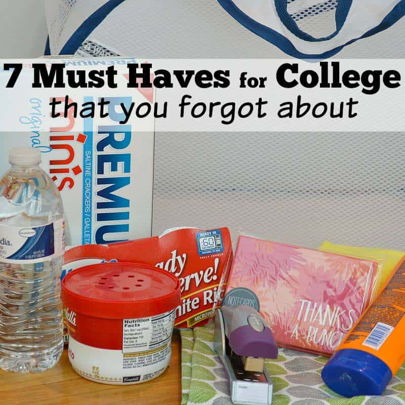 7 Must Haves for College (that you forgot about)