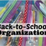 Stay Organized this School Year with Ziploc® Brand