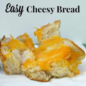 Make this easy Cheesy Bread for your next party or game day entertaining. #NaturallyCheesy [ad]