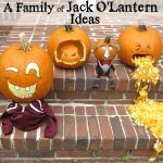 A Family of Jack O'Lantern Ideas