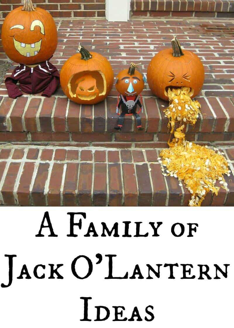 a family of jack o 39 lantern ideas organized 31. Black Bedroom Furniture Sets. Home Design Ideas