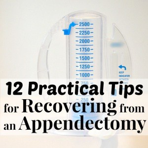 Practical Tips for Recovering from an Appendectomy