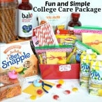 Fun and Simple College Care Package