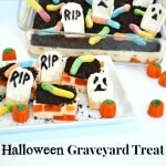 Halloween Graveyard Treat with Fanta and OREO