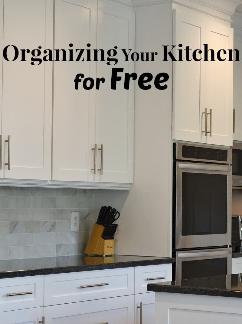 Organizing Your Kitchen for Free