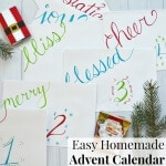 Easy Homemade Advent Calendar