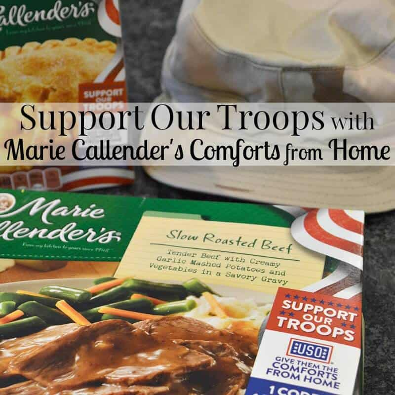 Support Our Troops with Marie Callender's Comforts from Home #ComfortsfromHome #CG [ad]