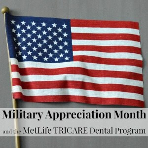 Military Appreciation Month and the MetLife TRICARE Dental Program