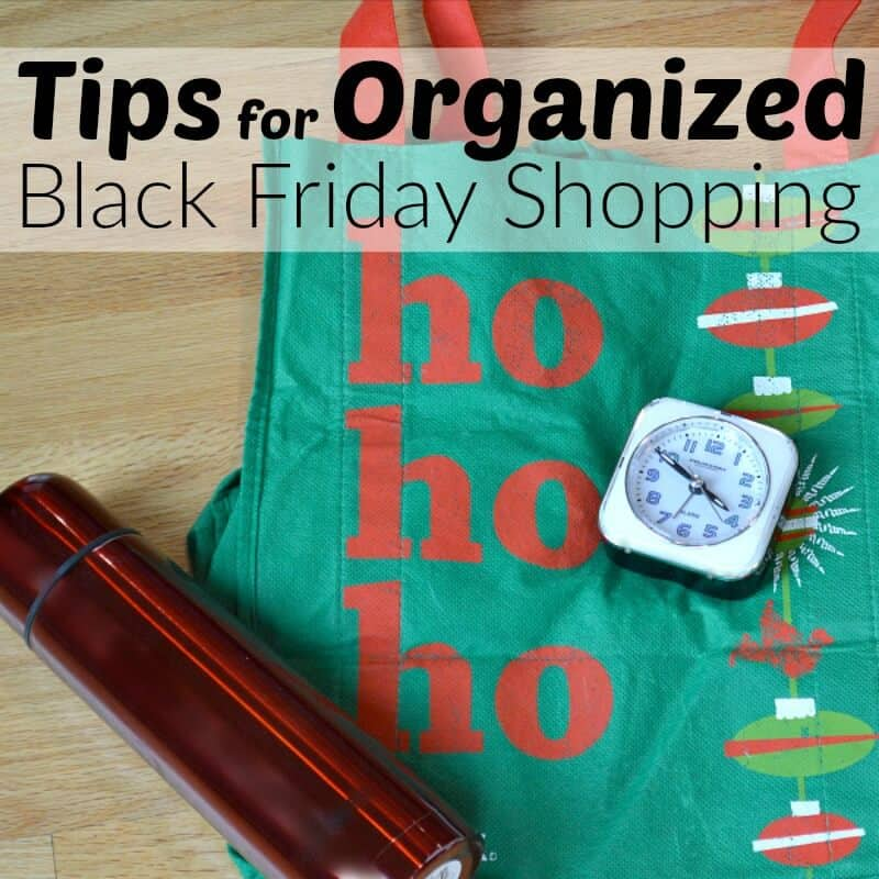 Tips for Organized Black Friday Shopping