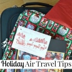 Holiday Air Travel Tips