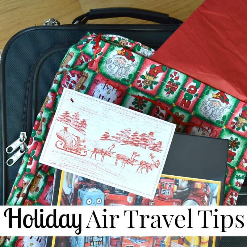 Simple Holiday Air Travel Tips #LetsTalkCents [ad]