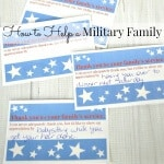 How to Help a Military Family