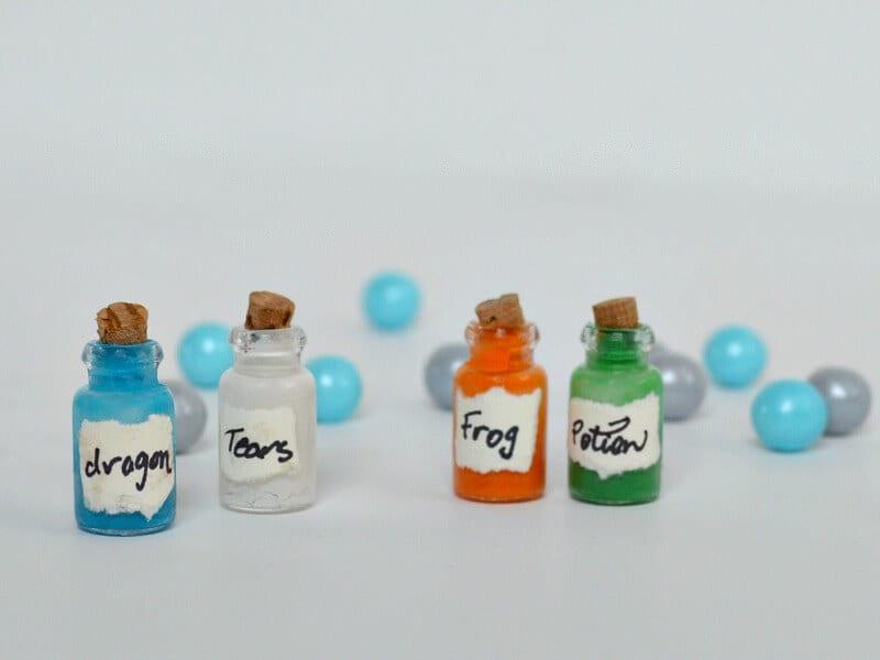 Mini Magic Potion Bottles DIY