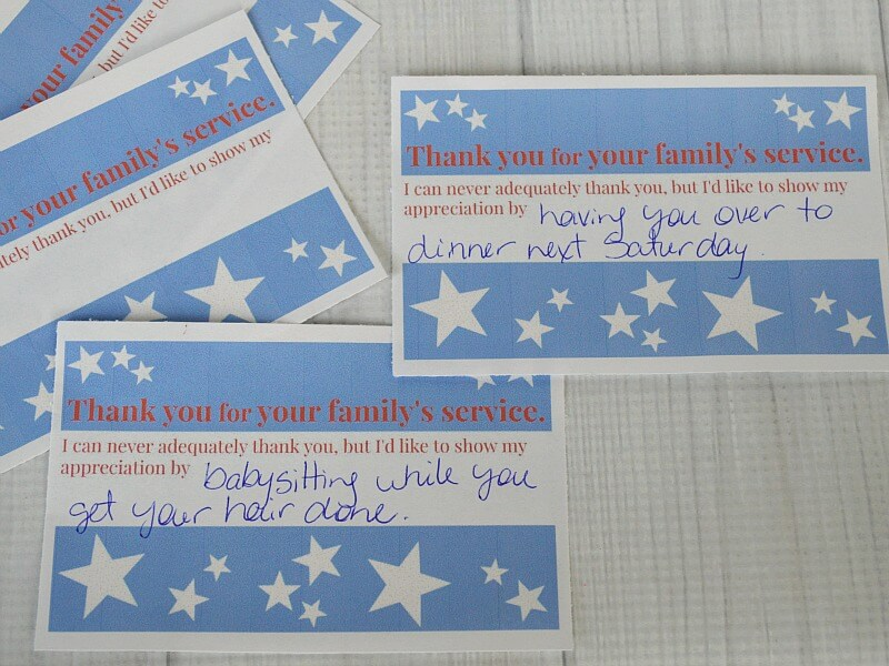 Tips and ideas of how to help a military family and show your appreciation. #MetLifeTDP #IC [ad]