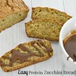 Easy Protein Zucchini Bread