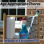 Age-Appropriate chores for kids and window cleaning tasks for the whole family. The family that cleans together builds stronger family bonds. #WindexMovieNight #PutSomeWindexOnIt [ad]